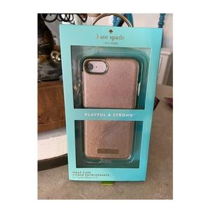 NWT Kate Spade iPhone 7/8 Case